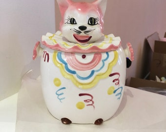 Made in Japan Kitty Cookie Jar