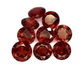 GARNET (32415)  -->> PARCEL  ( 9 Gems) 4.6 to 5mm Medium Red Garnet