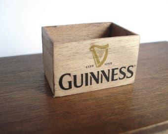 Miniature wooden crate