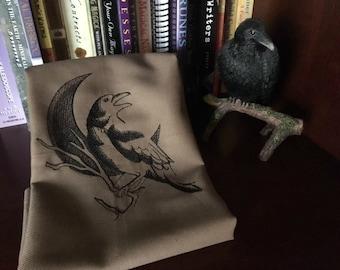 Raven By The Moon Tarot/Altar Cloth