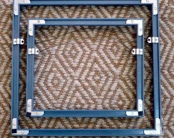 Blue Metal Picture Frames Comtemporary Design Frames Custom Frames