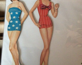 Dianne and Peggy Vintage Paper Dolls