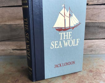 "SUPER SALE - Vintage ""The Sea Wolf"" by Jack London 1989 - Classic Novel - Classic Literature"