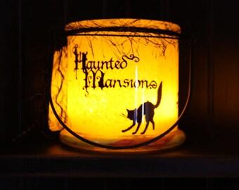 Haunted Mansion Halloween Lantern