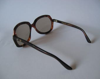 So nice they're ridiculous, Pierre Cardin vintage tortoiseshell glam oversized sunglasses Damien made in France