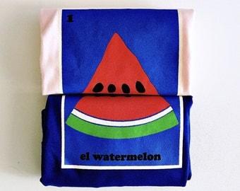 """Toddlers """"El Watermelon"""" Tee"""