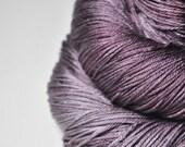 That thing under the bed OOAK - Merino/Silk Fingering Yarn Superwash