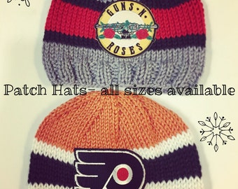 Patched Hats- Infant/Toddler/Child