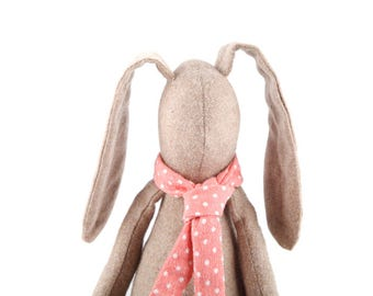 woollen rabbit doll , Easter bunny doll , SMALL baby doll , soft toy , easter gift , stuffed animal , photo prop , stuffed toy , kids decor