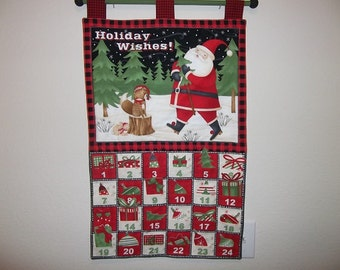 Christmas Advent Calendar - Holiday Wishes