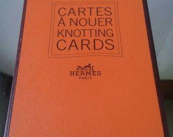 HERMES  Cartes à Nouer    Knotting Cards