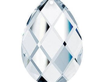 10 - Asfour 50mm Clear Chandelier Crystal Prism - 50mm Clear Swedish Cut Crystal Prism - Asfour Crystal YCD874