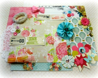 MME Find your Wings and Fly Scrapbook Embellishment Kit Inspiration Kit t for Scrapbooking Cards Mini Albums Tags and Paper crafts 1