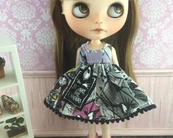 Blythe Dress - Nightmare before Christmas Jack Skellington