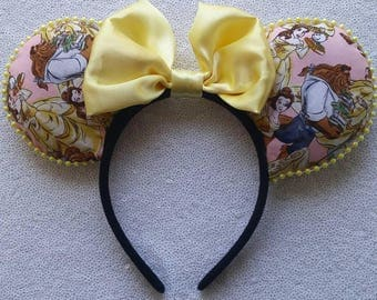 Beauty and the Beast Minnie ears