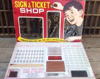 "FLASH SALE! 25% off when you enter ""25FLASH"" - Vintage Sign and Ticket Shop"