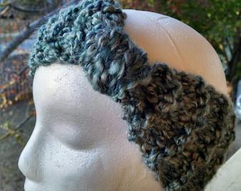 Knit Knot Ear Warmer - Regency