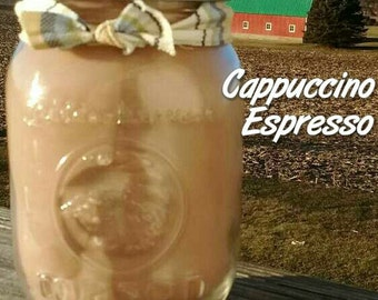 Cappuccino Espresso Soy Candle in 16 oz Jar