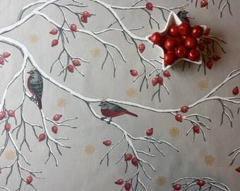 Birds Tablecloth Etsy