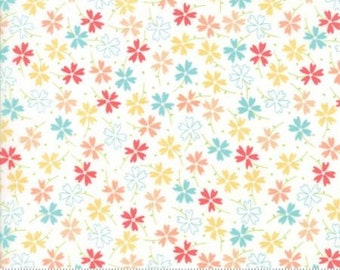 Lulu Lane Multi Pansies 29023 11 by Corey Yoder of Little Miss Shabby for Moda