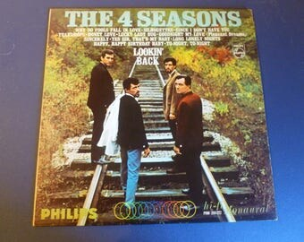 The 4 Seasons Lookin' Back Vinyl Record LP PHM 200-222  Phillips Monaural 1966
