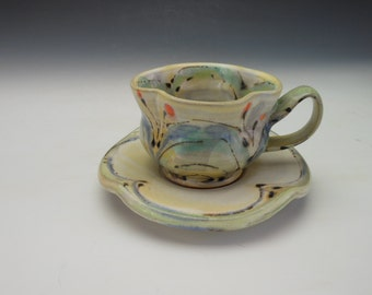 Espresso Cup and Saucer / Demitasse