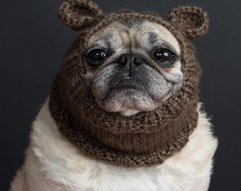 brown mouse snood