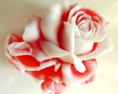 SMALL BLOOMING ROSE Soap, Valentine's Day Gift, For Her, Flower Soap, For Mom, Birthday Gift,Custom Colored, Custom Scented, Vegetable Based