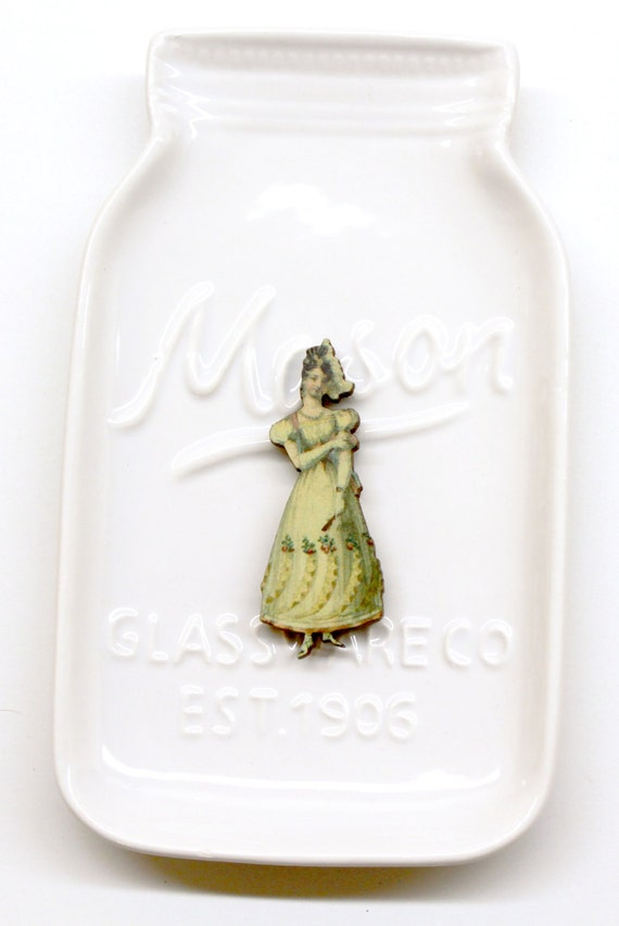 Victorian Lady #3 Needle Minder