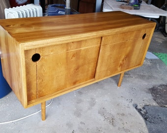 Mid Century Record Storage Cabinet - IN STOCK!!