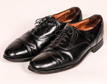BOSTONIAN Captoe Dress Shoe Men's Size 9 .5 E