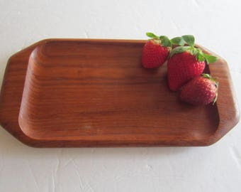 karl holmberg tray mid century wood tray sweden