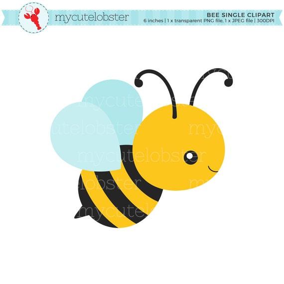 Bee Single Clipart clip art of a cute bee bumblebee honey
