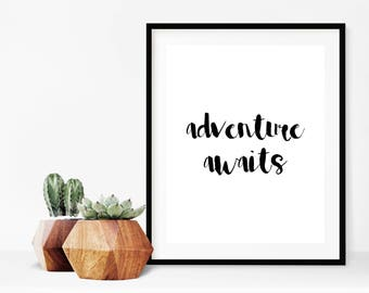 Adventure Awaits Wall Art