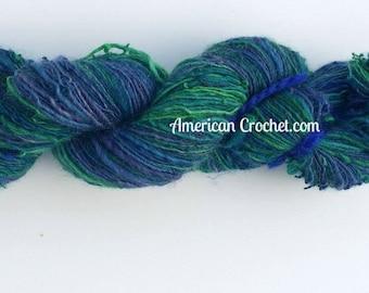 Pluto's End handspun yarn / 1 ply / 125 yards