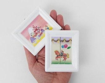 2 Vintage Villeroy & Boch Galerie Bone China Porcelain Frames Made in West Germany