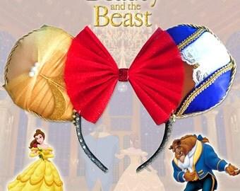 Beauty & The Beast Ears