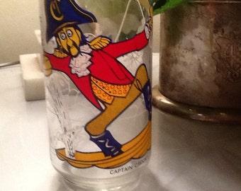 Vintage Captain Crook  McDonald Glass