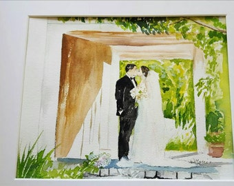 Painting from your Photo.  Wedding Day, Anniversary, Engagement, Birthday, Retirement, Gift Certificates!