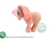 Vintage My Little Pony: Cotton Candy *Needs Tail* 80s Toy by Hasbro