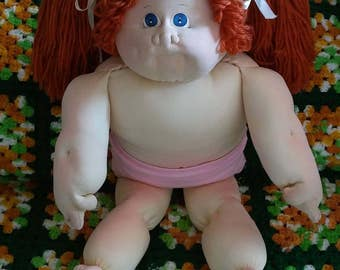 Little People Xavier Roberts Cabbage Patch Kids Soft Sculpture Girl Doll