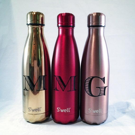 Personalized Swell Bottle Initial Swell Bottle Christmas