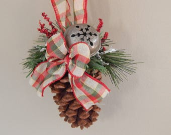 Pinecone Country Ornaments
