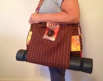 Yoga Bag - Gym Tote - Diaper Bag - Beach Bag