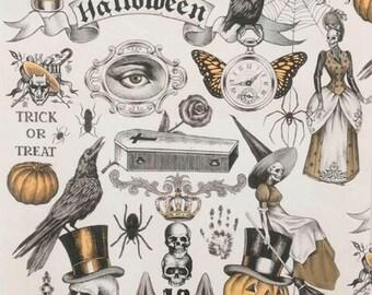 Haunted House - Trickery Orange Tea Objects from Alexander Henry