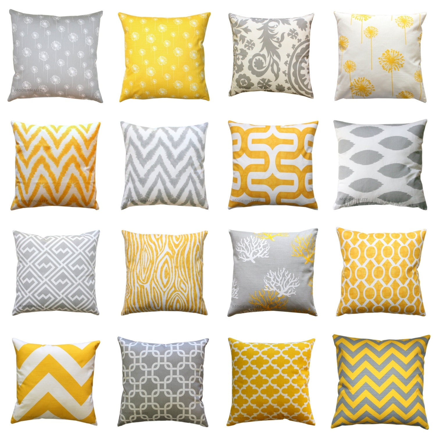 clearance throw pillow cover yellow and grey pillows mix. Black Bedroom Furniture Sets. Home Design Ideas