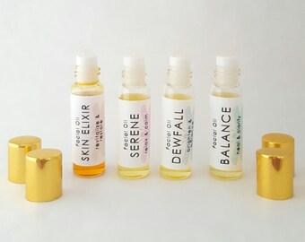 Facial Treatment Oil - Deep cell-renewal formulas - Natural Skincare, Vegan & Cruelty-free, Healing, Rejuvenating, Balancing, Relaxing