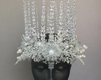 Ice Queen Headdress Crown
