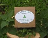 Peppermint & Nettle Herbal Tea  5 Tea Bags