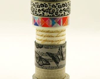ON SALE NOW - Japanese Washi Paper Tape - 7 rolls (No discount)